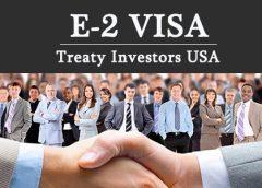 Visa Mỹ -Phân loại không di dân E-2