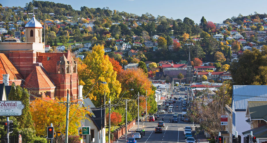Launceston, Bắc Tasmania